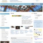 Web del Ministerio de Relaciones Exteriores