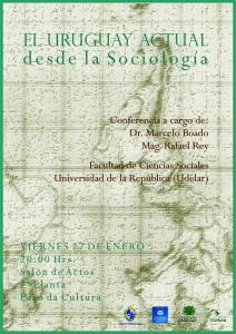 charla uruguay actual sociología