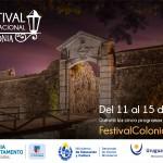 III Festival Internacional de Colonia - afiche